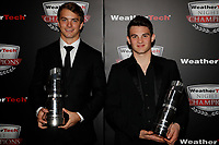 IMSA WeatherTech SportsCar Championship<br /> Night of Champions<br /> Road Atlanta, Braselton GA<br /> Monday 9 October 2017<br /> PC Champions James French and Pato O'Ward<br /> World Copyright: Michael L. Levitt<br /> LAT Images