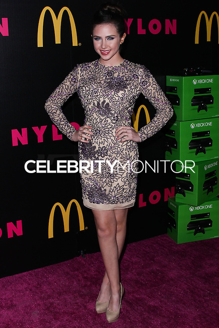 WEST HOLLYWOOD, CA - DECEMBER 05: Ryan Newman arriving at the Nylon Magazine December 2013/January 2014 Cover Launch Party held at Quixote Studios on December 5, 2013 in West Hollywood, California. (Photo by Xavier Collin/Celebrity Monitor)