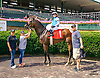 Just Em winning at Delaware Park on 6/27/16