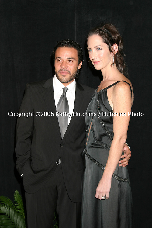 Michael Irby & Guest.Diversity Awards 2006.Century Plaza Hotel.Century City, CA.November 19, 2006.©2006 Kathy Hutchins / Hutchins Photo....