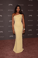 LOS ANGELES, CA - NOVEMBER 04: Naomi Campbell at the 2017 LACMA Art + Film Gala Honoring Mark Bradford And George Lucas at LACMA on November 4, 2017 in Los Angeles, California. Credit: David Edwards/MediaPunch /NortePhoto.com