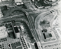 1969 October 13..Redevelopment.Downtown East (R-18)..Highway interchange at City Hall..HAYCOX PHOTORAMIC INC..NEG#.NRHA#..