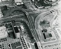 1969 October 13..Redevelopment.Downtown East (R-18)..Highway interchange at City Hall..HAYCOX PHOTORAMIC INC..NEG#.NRHA#..