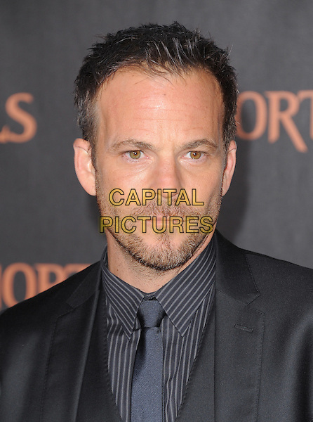 Stephen Dorff.The World Premiere of 'Immortals' held at The Nokia Theater Live in Los Angeles, California, USA..November 7th, 2011.headshot portrait black grey gray facial hair beard stubble .CAP/RKE/DVS.©DVS/RockinExposures/Capital Pictures.
