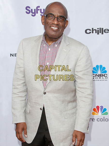 AL ROKER . arriving at the The Cable Show 2010 To Feature An Evening With NBC Universal held at  Universal Studios Hollywood in Universal City, California, USA, .May 12th, 2010..half length glasses red and white checked gingham check beige jacket  shirt .CAP/ROT/AMB.©Adriana M. Barraza /Roth Stock/Capital Pictures