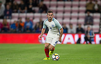 Lewis Cook (Bournemouth) of England U21 during the UEFA EURO U-21 First qualifying round International match between England 21 and Latvia U21 at the Goldsands Stadium, Bournemouth, England on 5 September 2017. Photo by Andy Rowland.