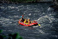 White Water Rafting at Bridal Falls Keystone Canyon, Alaska