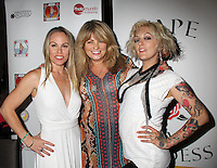 Christy Oldham, Carole Ashby, Lulu Danger<br /> at the 'DemiGoddess Vape' Celebrity Lounge hosted by PhotoMundo Publishing, Westin Los Angeles Airport Hotel, Los Angeles, CA 07-09-16