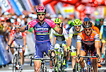 Sacha Modolo (ITA) Lampre-Merida wins Stage 4 of the 52nd Tour of Turkey running 187km from Seydisehir to Alanya, Turkey. 27th April 2016.<br /> Picture: Tour of Turkey/Brian Hodes | Newsfile<br /> <br /> <br /> All photos usage must carry mandatory copyright credit (&copy; Newsfile | Tour of Turkey/Brian Hodes)