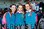 Leonie Dowling, Alison Lane and Eabha Murphy, pictured at Mercy Mounthawk Secondary School Fashion Show held at the School Gym on Wednesday last.