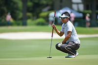 Kodai Ichihara (JPN) looks over the green on 12 during round 2 of the WGC FedEx St. Jude Invitational, TPC Southwind, Memphis, Tennessee, USA. 7/26/2019.<br /> Picture Ken Murray / Golffile.ie<br /> <br /> All photo usage must carry mandatory copyright credit (© Golffile | Ken Murray)