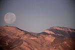 11-15-2016 Super Moon setting over Vegas Red Rock