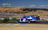 Jun. 21, 2009; Sonoma, CA, USA; NASCAR Sprint Cup Series driver Kurt Busch during the SaveMart 350 at Infineon Raceway. Mandatory Credit: Mark J. Rebilas-