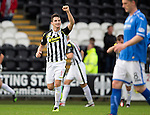 St Mirren v St Johnstone...19.10.13      SPFL<br /> Kenny McLean celebrates his goal<br /> Picture by Graeme Hart.<br /> Copyright Perthshire Picture Agency<br /> Tel: 01738 623350  Mobile: 07990 594431