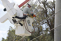 2017 FPL Hurricane Irma restoration in St. Augustine, Fla. on Sept. 14, 2017.