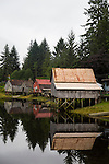 Petersburg, a fishing village in the inside passage of Alaska, USA