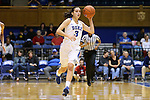 17 December 2015: Duke's Angela Salvadores (ESP). The Duke University Blue Devils hosted the Liberty University Flames at Cameron Indoor Stadium in Durham, North Carolina in a 2015-16 NCAA Division I Women's Basketball game. Duke won the game 79-41.