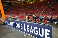 Innenraum der Amsterdam Arena - 13.10.2018: Niederlande vs. Deutschland, 3. Spieltag UEFA Nations League, Johann Cruijff Arena Amsterdam, DISCLAIMER: DFB regulations prohibit any use of photographs as image sequences and/or quasi-video.