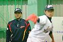 Tsuyoshi Yoda (JPN), .MARCH 1, 2013 - WBC : .2013 World Baseball Classic .Japan team training .in Fukuoka, Japan. .(Photo by YUTAKA/AFLO SPORT)