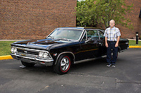 1966 Trailered Contemporary Senior (#79) – 1966 Chevrolet Chevelle Super Sport 2-Door Hardtop registered to Steve Best is pictured during 4th State Representative Chevy Show on Friday, July 1, 2016, in Fort Wayne, Indiana. (Photo by James Brosher)