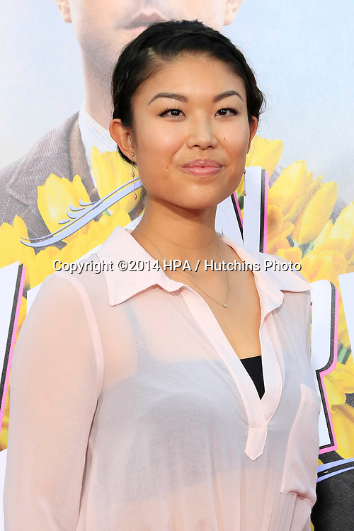 """LOS ANGELES - MAY 15:  Catherine Shu at the """"A Million Ways To Die In The West"""" World Premiere at Village Theater on May 15, 2014 in Westwood, CA"""
