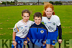 The O'Connell family members of the Tralee Parnells GAA, Maria, Liam and Meabh O'Connell excited at the reopening of GAA fields.