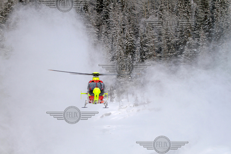 EC-135 <br /> Norwegian Air Ambulance helicopter and crew.