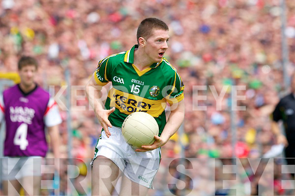 Kieran O'Leary Kerry v  Cork in the Munster Senior Football Final in Fitzgerald Stadium in Killarney on Sunday.