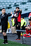 FC Seoul Head Coach Hwang Sun-hong reacts during the 2017 Lunar New Year Cup match between Auckland City FC (NZL) and FC Seoul ((KOR) on January 28, 2017 in Hong Kong, Hong Kong. Photo by Marcio Rodrigo Machado/Power Sport Images