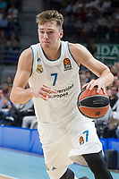 Real Madrid Luka Doncic during Turkish Airlines Euroleague match between Real Madrid and Khimki Moscow at Wizink Center in Madrid, Spain. November 02, 2017. (ALTERPHOTOS/Borja B.Hojas) /NortePhoto.com
