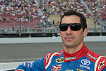 June 14 2009: Sprint Cup driver Max Papis on the grid at the LifeLock 400 at Michigan International Speedway in Brooklyn, MIchigan.
