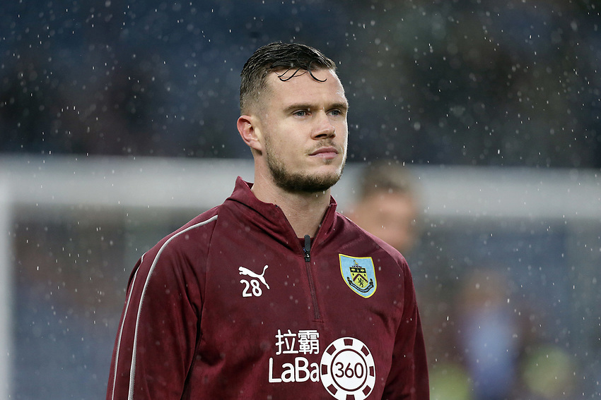 Burnley's Kevin Long during the pre-match warm-up <br /> <br /> Photographer Rich Linley/CameraSport<br /> <br /> The Premier League - Burnley v Brighton and Hove Albion - Saturday 8th December 2018 - Turf Moor - Burnley<br /> <br /> World Copyright © 2018 CameraSport. All rights reserved. 43 Linden Ave. Countesthorpe. Leicester. England. LE8 5PG - Tel: +44 (0) 116 277 4147 - admin@camerasport.com - www.camerasport.com