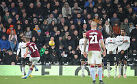 Aston Villa's Conor Hourihane scores his sides third goal <br /> <br /> Photographer Mick Walker/CameraSport<br /> <br /> The EFL Sky Bet Championship - Derby County v Aston Villa - Saturday 10th November 2018 - Pride Park - Derby<br /> <br /> World Copyright &copy; 2018 CameraSport. All rights reserved. 43 Linden Ave. Countesthorpe. Leicester. England. LE8 5PG - Tel: +44 (0) 116 277 4147 - admin@camerasport.com - www.camerasport.com