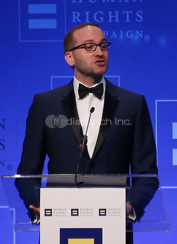 Los Angeles, CA - March 14: Chad Griffin Attending Human Rights Campaign_Inside Los Angeles Gala 2015 At JW Marriott Los Angeles at L.A. LIVE on March 14, 2015. Photo Credit: Faye Sadou / UPA/MediaPunch