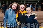 Lauren Shine, Daisy Walsh and Caitlyn Holly, all from Listowel, pictured at the Listowel Races on Sunday afternoon last.