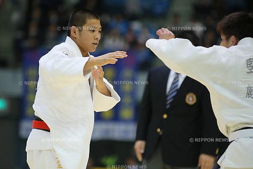 Hifumi Abe, NOVEMBER 8, 2014 - Judo : Kodokan Cup 2014 Men's -66kg at Chiba Port Arena, Chiba, Japan. (Photo by Yusuke Nakanishi/AFLO SPORT) [1090]