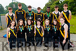 Mercy Mounthawk Students pictured on Wednesday morning last, as they represented the school in the All Ireland Athletic Championships in Tullamore, last weekend, with the girls who came 3rd in the 4x300 relay, the boys came 1st in the 4x100 relay and broke a national record of 43.19 and also 3 individual winners of the high jump, 100m sprint and 200m sprint. Pictured front l-r: Rebecca Falvey Ciara McCarthy, Orla O'Reilly, Aine O'Shea, Rachel Bowler, Diana Nagle and Kirby Ann Ryan. Back l-r: Cathal Fitzgibbon Darragh Courtney, Luke O'Carroll, Cillian Griffin, Basit Oyenbanji, Louis Byrne and Oisin Spillane.