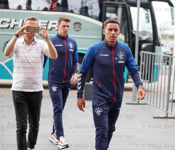 07.08.2019 FC Midtjylland and Rangers pressers: James Tavernier