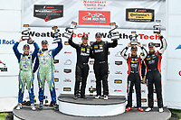 IMSA Continental Tire SportsCar Challenge<br /> Lime Rock Park 120<br /> Lime Rock Park, Lakeville, CT USA<br /> Saturday 22 July 2017 <br /> 27, Mazda, Mazda MX-5, ST, Britt Casey Jr, Matt Fassnacht, 25, Mazda, Mazda MX-5, ST, Chad McCumbee, Stevan McAleer, 84, BMW, BMW 328i, ST, James Clay, Tyler Cooke<br /> World Copyright: Richard Dole<br /> LAT Images<br /> ref: Digital Image RD_LRP_17_01181