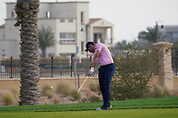 Oliver Wilson (ENG) on the 12th during Round 1 of the Saudi International at the Royal Greens Golf and Country Club, King Abdullah Economic City, Saudi Arabia. 30/01/2020<br /> Picture: Golffile | Thos Caffrey<br /> <br /> <br /> All photo usage must carry mandatory copyright credit (© Golffile | Thos Caffrey)