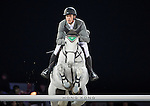 Henrick von Eckermann on Solitaer 41 competes during the AirbusTrophy at the Longines Masters of Hong Kong on 20 February 2016 at the Asia World Expo in Hong Kong, China. Photo by Victor Fraile / Power Sport Images