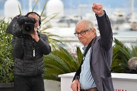 "CANNES, FRANCE. May 17, 2019: Ken Loach at the photocall for the ""Sorry We Missed You"" at the 72nd Festival de Cannes.<br /> Picture: Paul Smith / Featureflash"