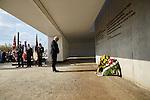 19.4.2015, Oranienburg Sachsenhausen. 70. Jahrestag zur Befreiung des KZ Sachsenhausen. Frank-Walter Steinmeier