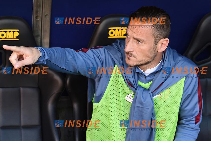 Francesco Totti Roma <br /> Genova 02-05-2016 Football Calcio Serie A 2015/2016  Genoa - AS Roma foto Image Sport/Insidefoto