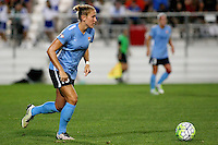 Piscataway, NJ - Wednesday Sept. 07, 2016: Kristin Grubka during a regular season National Women's Soccer League (NWSL) match between Sky Blue FC and the Orlando Pride FC at Yurcak Field.