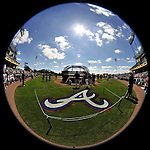 8 March 2011: Baseball fans watch batting practice prior to a Spring Training game between the New York Yankees and the Atlanta Braves at Champion Park in Orlando, Florida. The Yankees edged out the Braves 5-4 in Grapefruit League action. Mandatory Credit: Ed Wolfstein Photo