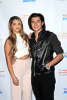 LOS ANGELES - DEC 3: Paris Berelc, Eric Unger at The Actors Fund's Looking Ahead Awards at the Taglyan Complex on December 3, 2015 in Los Angeles, California