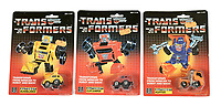 BNPS.co.uk (01202 558833)<br /> Pic: Vectis/BNPS<br /> <br /> PICTURED: 1984 Transformers x three, Bumblebee, Huffer and Cliffjumper sold for £4,080<br /> <br /> One man's epic collection of retro eighties' toys has been sold for £220,000 by his family following his death.<br /> <br /> Dr Cornel Flemming amassed more than 1,600 toy action figures and cars for franchises like Star Wars, He-Man and Transformers. <br /> <br /> The market for nostalgic toys is booming at the moment which is reflected in the prices some of the toys achieved.<br /> <br /> An unopened pack of three He-Man figures featuring He-Man, Teela and Ram Man made by Mettel sold for an incredible £12,000.
