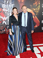 LOS ANGELES, CA - NOVEMBER 13: Diane Lane, Charles Roven, at the Justice League film Premiere on November 13, 2017 at the Dolby Theatre in Los Angeles, California. Credit: Faye Sadou/MediaPunch