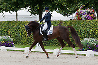 AUS-Hayley Beresford (BELISSIMO NRW) 2012 GER-CHIO Aachen Weltfest des Pferdesports (Thursday) - Grand Prix CDIO Nations Cup: